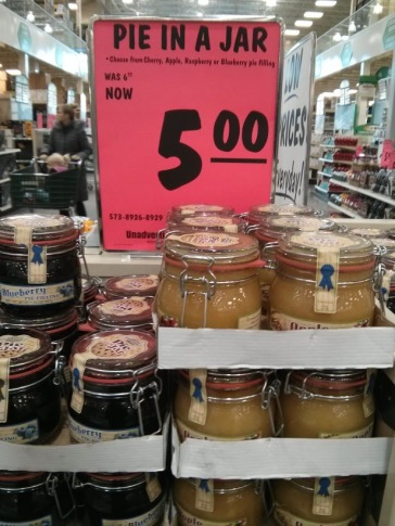 Pie in a Jar, $5